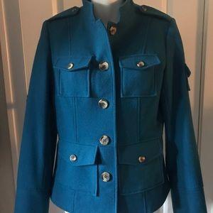 Sundance Short Teal Jacket